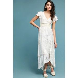 NWT ANTHROPOLOGIE Farm Rio Gerty Velvet Maxi Dress